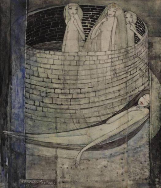 Frances MacDonald, Truth Lies at the Bottom of the Well c. 1912-1915