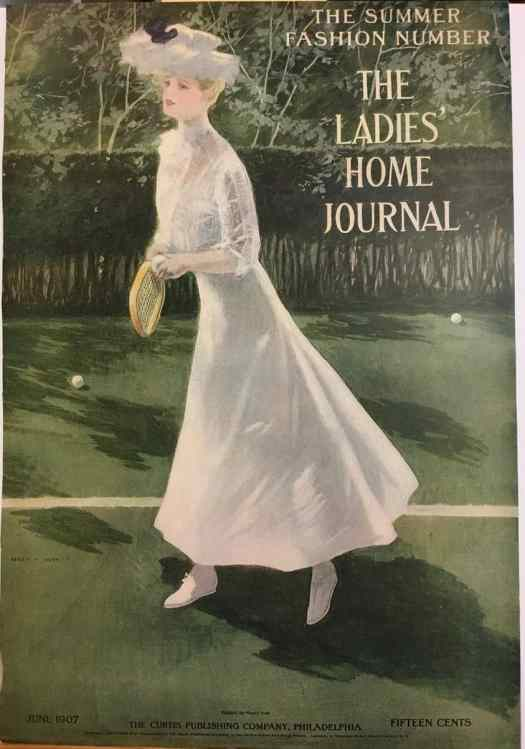 Ladies Home Journal Original Cover, June 1907 By Henry Hutt