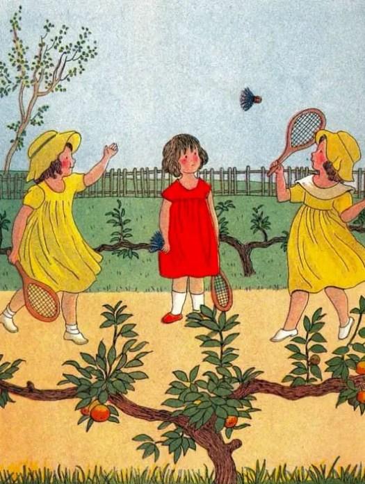 Marie-Madeleine Dauphin (Franc-Brossier) 1878-1942 badminton