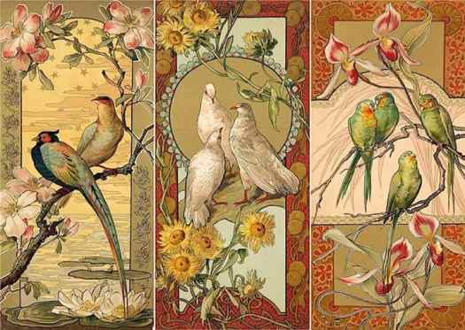 Mary Golay- The Birds, 1900
