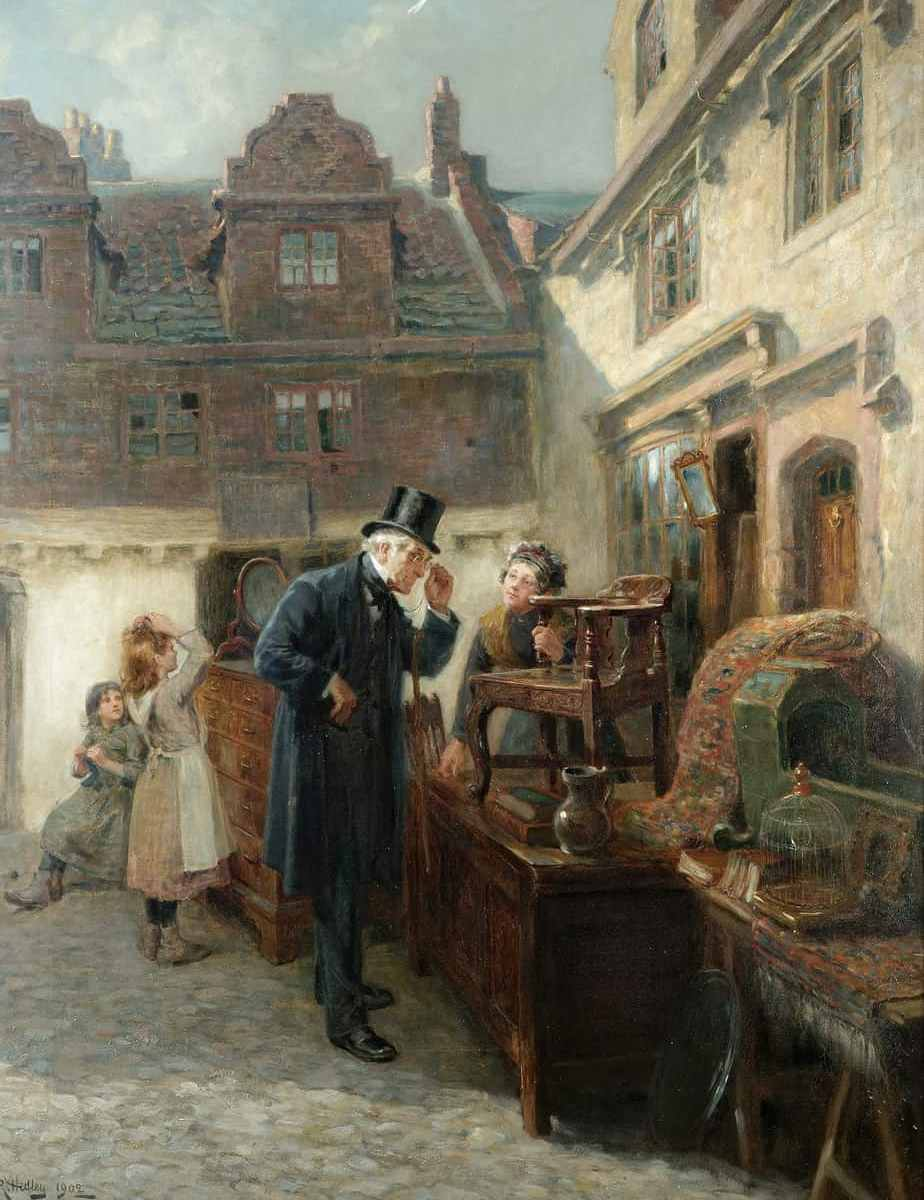 Ralph Hedley - Real Antique