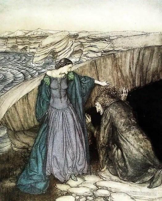 "Thomas Malory, ""Le Morte d'Arthur"" (1485) illustrated by Arthur Rackham (1917)"