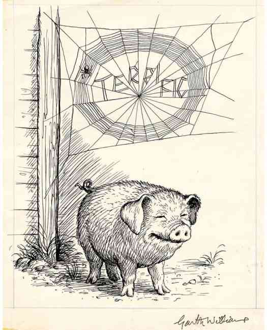 by Garth Williams for Charlotte's Web (1952)