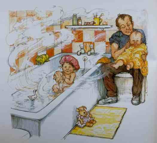 All Around Me Opposites by Shirley Hughes