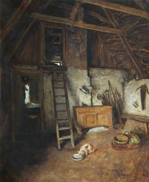 Charles Martin Hardie - Interior, Ancrum
