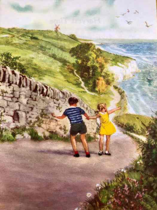 Clive Uptton, 1964, Ladybird book, seaside