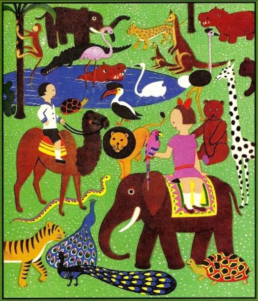 DIE WUNDERFAHRT (1929) Sándor Bortnyik jungle carnivalesque