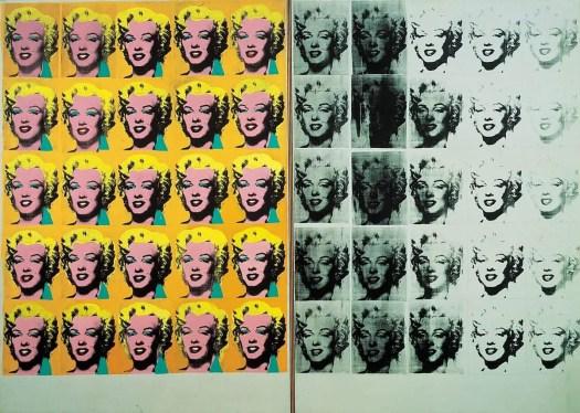 Marilyn Diptych Andy Warhol 1962