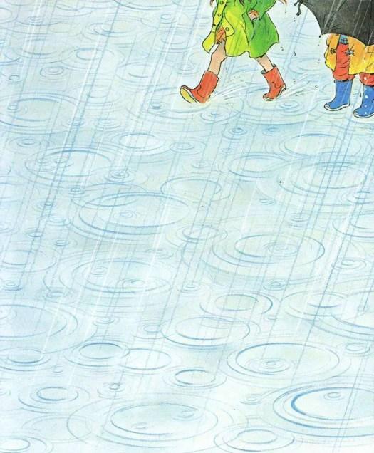 Peter Spier. Rain