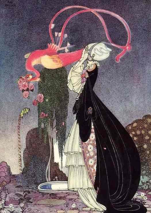 Rosanie or The Inconstant prince, Kay Nielsen 1913