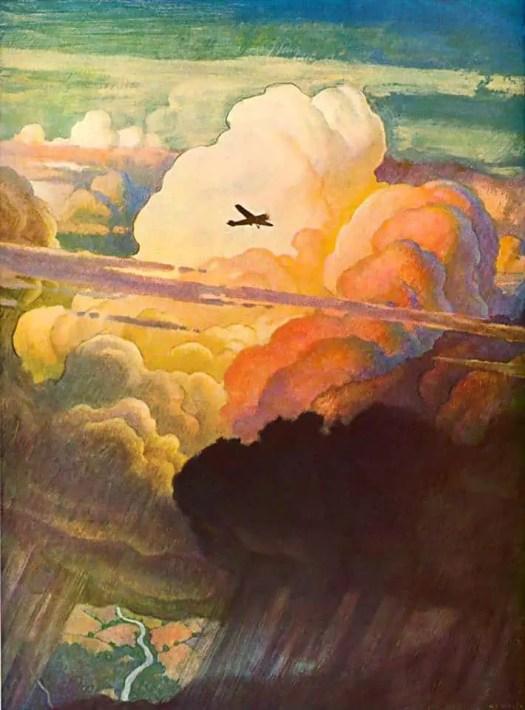 The-Airmail.-N.-C.-Wyeth.-1938