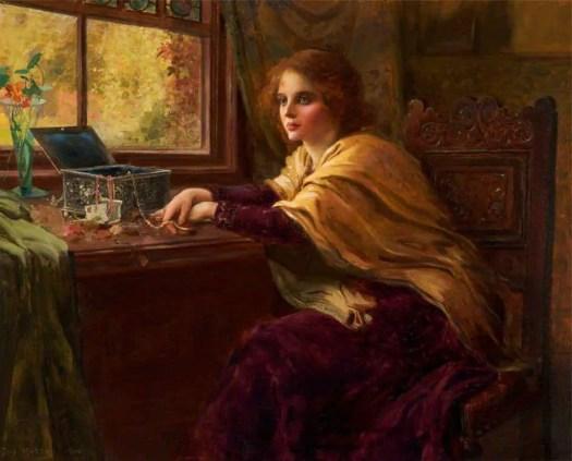 Thomas Edwin Mostyn - The Jeweled Box 1900