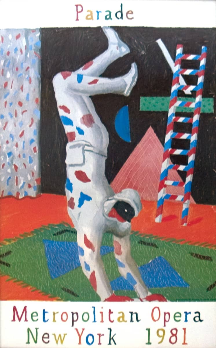 Harlequin by David Hockney