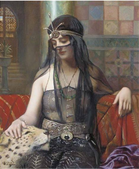 Art By Harold H Piffard 1867 - 1938 The Sultan's Favourite