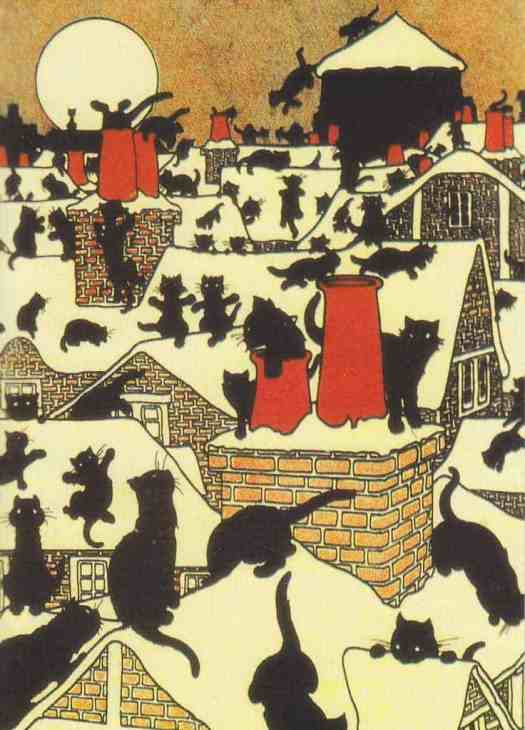 Charles Robinson (1870 - 1937) for The Black Cat Book