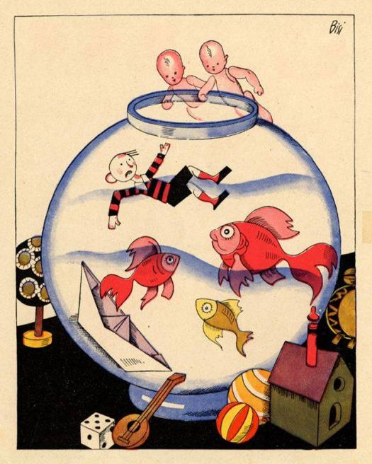 Illustration by Carlo Bisi, 1932