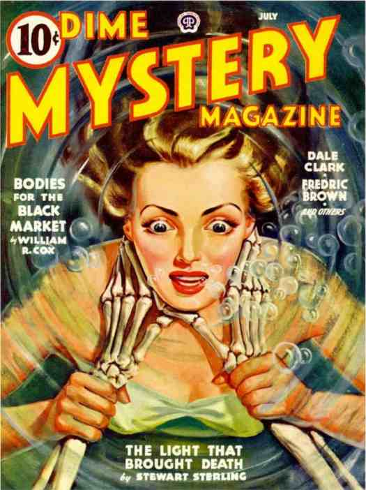 Illustration by Gloria Stoll Karn- a female pioneer and master of pulp and romance illustration