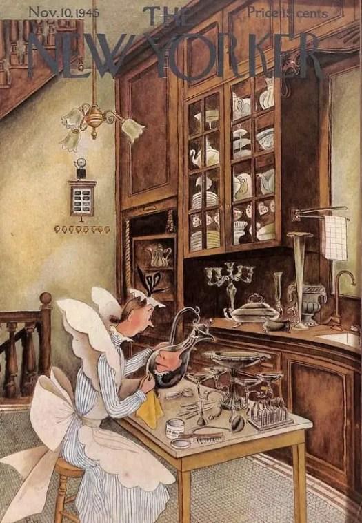 Mary Petty (1899-1976), 1945 kitchen