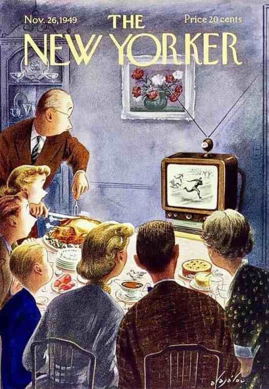 November 26, 1949 Thanksgiving TV