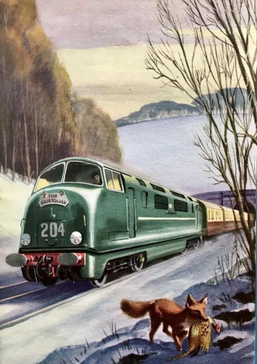 Robert Ayton 1961 fox train