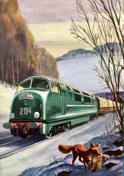 Robert Ayton 1961 fox train
