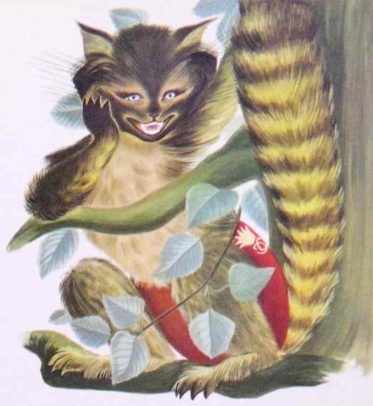 Baudouin Simonne Alice In Wonderland Cheshire Cat