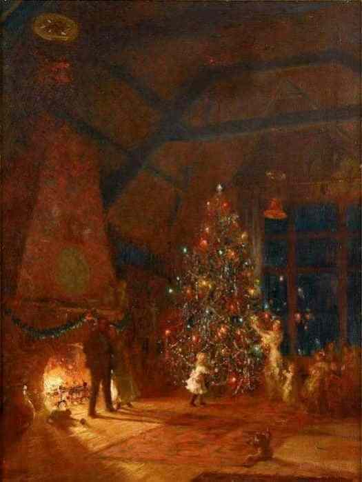 Christmas Eve in the Studio, 1911 Mary Fairchild Low; 1858-1909