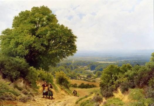 John Clayton Adams - Returning from the Harvest
