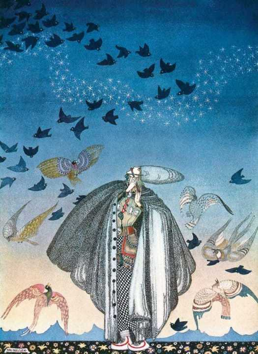 Kay Nielsen (1886 - 1957) The Three Princesses In The Blue Mountain