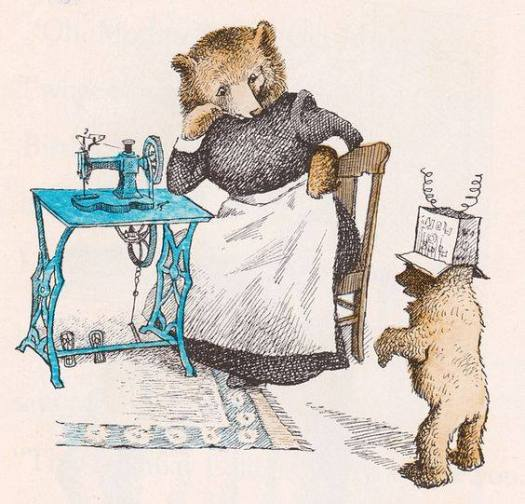 Little Bear - written by Else Holmelund Minarik, illustrated by Maurice Sendak (1957)