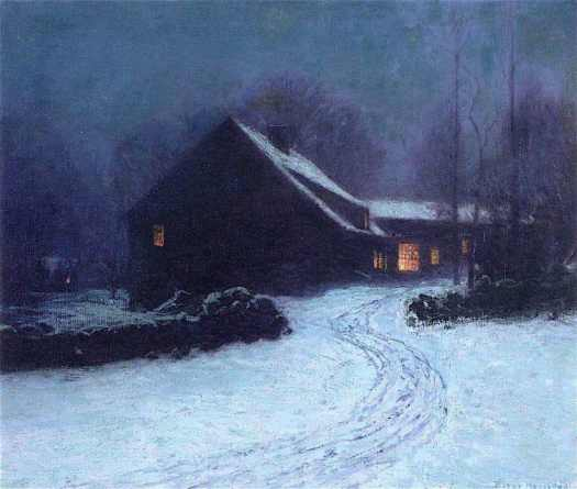 Lowell Birge Harrison (1854 - 1929) The Inn at Cos Cob, 1914