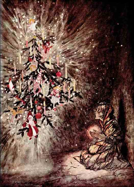 The Little Match Girl ~ Arthur Rackham 1932