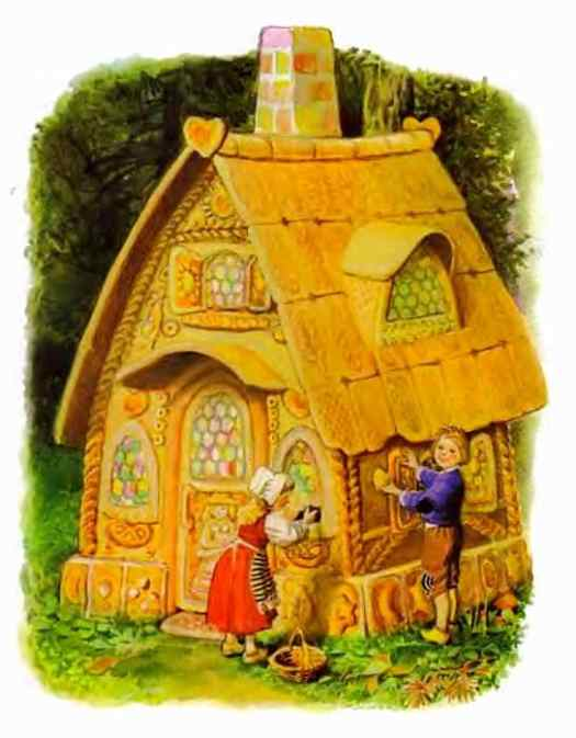 Vladimir Vtorenko - Hansel and Gretel gingerbread house