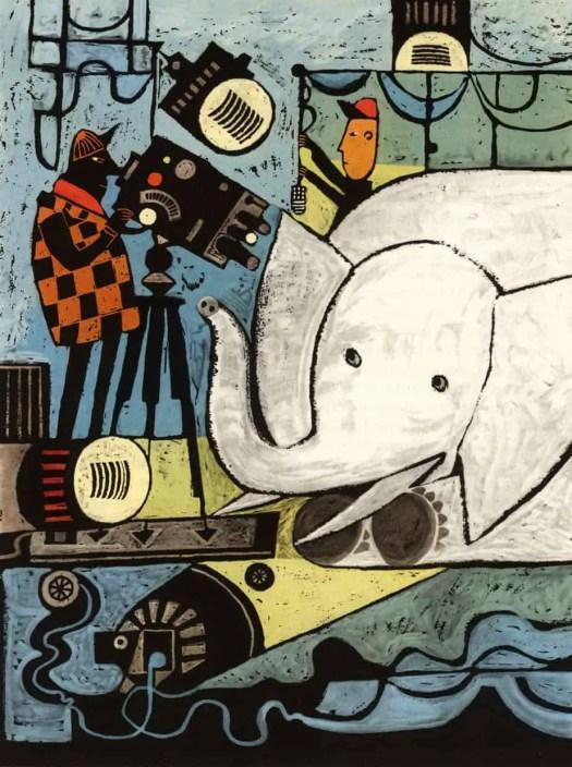 Zbigniew Rychlicki elephant