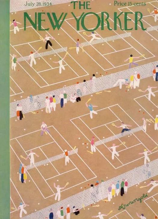 Adolph K. Kronengold tennis