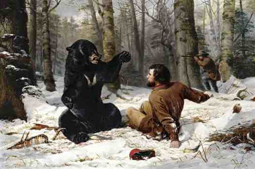 Arthur Fitzwilliam Tait - The Life of a Hunter-A Tight Fix bear