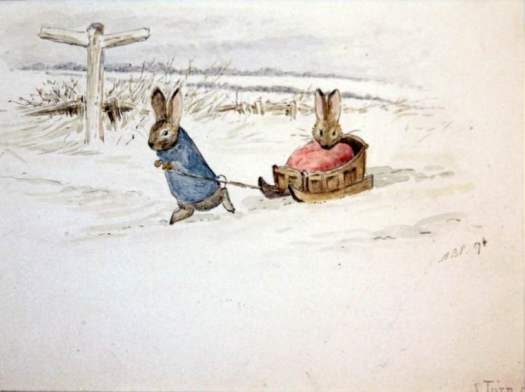 Beatrix Potter sled