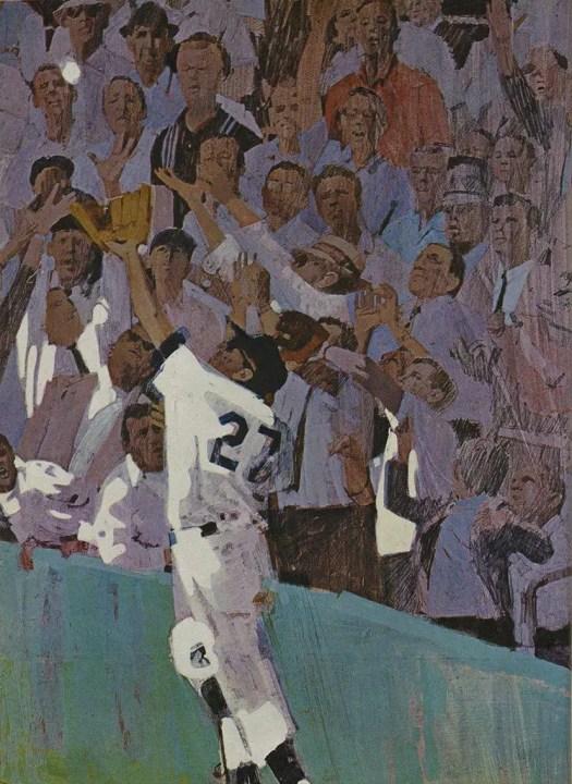 Bernie Fuchs baseball in Sports Illustrated