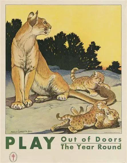 Charles Livingston Bull, American (1874-1932) c1931 tiger