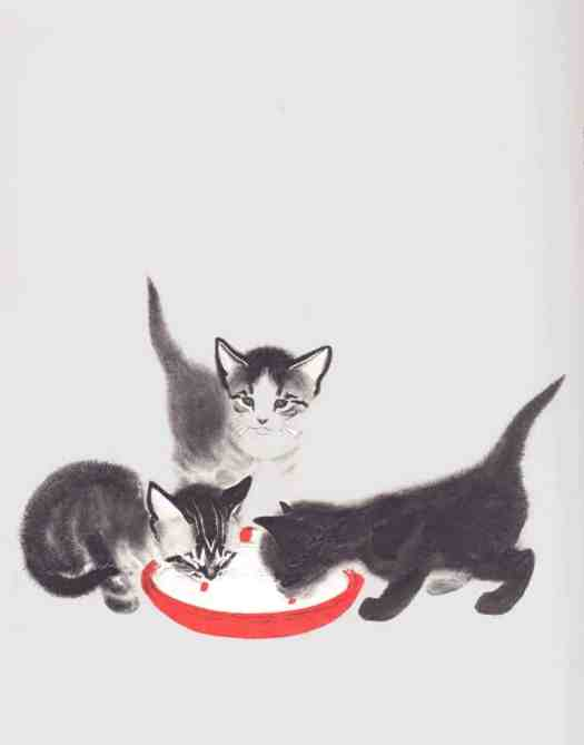 Clare Turlay Newberry (American,1903-1970) - April's Kittens cat
