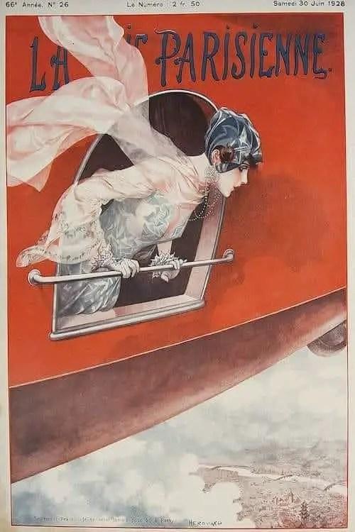 Héri Hérouard, Flight from Pekin to Paris, 1928