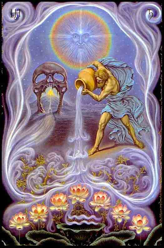 Johfra Bosschart The Zodiac Series Aquarius, 1974-75 symmetry