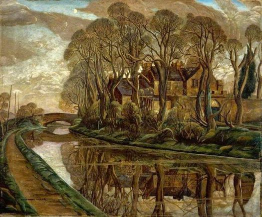Josephine Haswell Miller (1890-1975) The House on the Canal