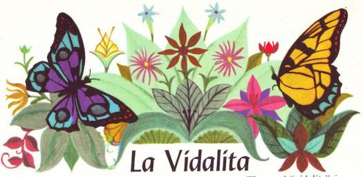 La Vidalita, Illustration by Alice and Martin Provensen in 'Fireside Book of Folk Songs' Selected and edited by Margaret Bradford Boni. Simon and Schuster, 1947, symmetry