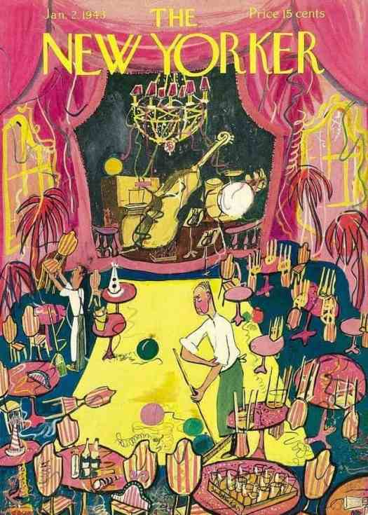 Ludwig Bemelmans (1898-1962) 1943 after party