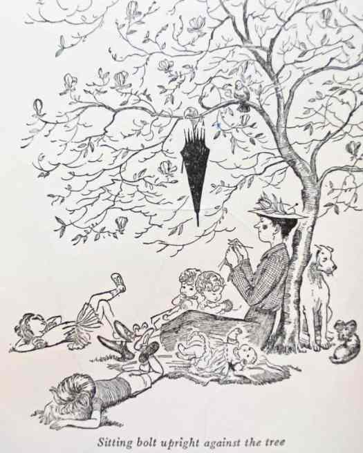 Mary Poppins in the Park, P. L. Travers, Illustrated by Mary Shepard, 1952 nanny