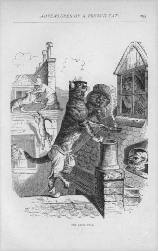 Public and Private Life of Animals, by P. J. Stahl, illustrated by J. J. Grandville, Publication date 1877 cat