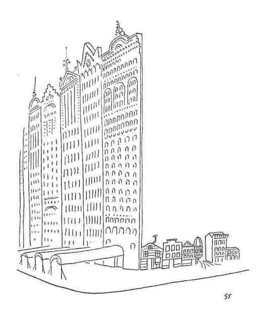 Saul Steinberg facade
