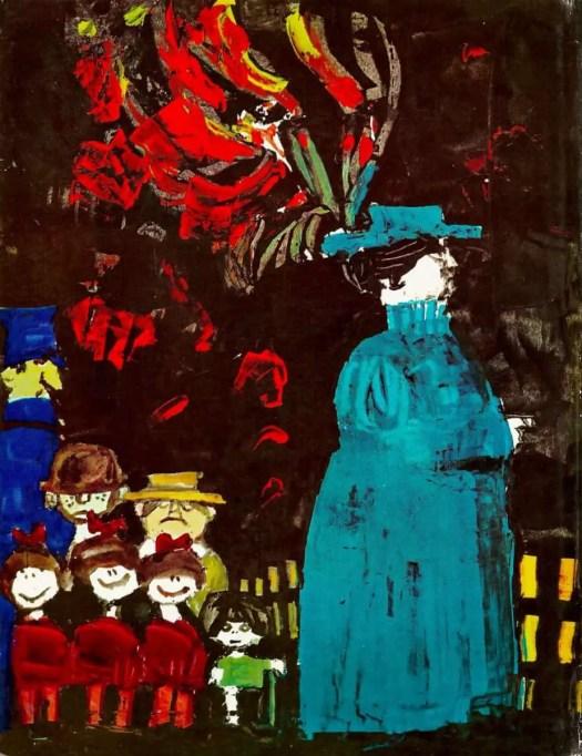 TOM & TABBY (1963) André François the hat of plenty