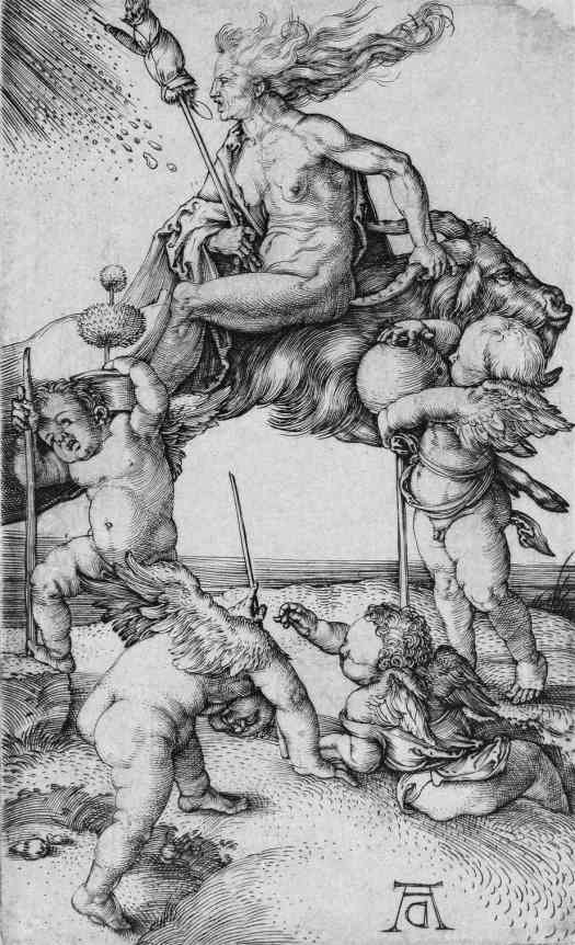 The Witch, Albrecht Dürer, 1498 - 1502